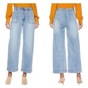 Frye Nadia Wide Leg Jeans